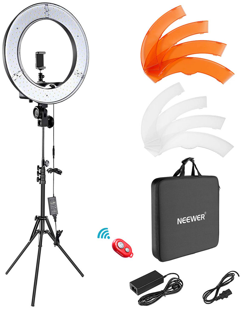 neewer 18 inch led ring light kit